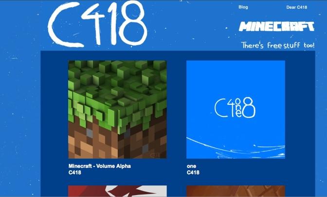 C418, Minecraft und die Resultate einer Recherche